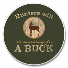 HUNTERS DO ANYTHING FOR BUCK 1 Absorbent Auto Car Stone Coaster for Cup Holders