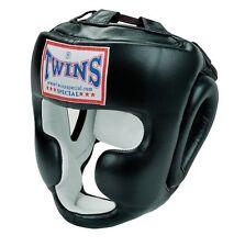 Twins entrenamiento cabeza protección, Headguard. Muay Thai, Kickboxing, Boxeo, haciéndole barbilla