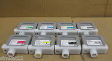 Canon 8 x EMPTY 330ML Ink Tanks - PFI-301PC, PFI-302GY, PFI-302BK, PFI-301Y
