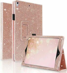 Apple iPad Glitter Flip Stand Cover Case For Air2 iPad 10.2 7/8th (2020) Mini 5