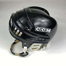 New ListingCcm Helmet Ht2 Hockey Black Men's Sz M Made In Canada Ice Roller Nhl Vtg