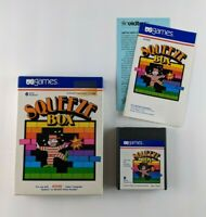 Vintage 1982 Squeeze Box Atari Video Game (Complete in Box)