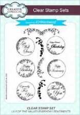 CREATIVE EXPRESSIONS A5 Clear Stamp Set LILY of the VALLEY EVERYDAY CEC752