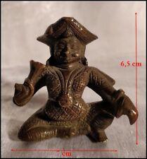 Rare Amulette Bronze du Sri Lankha 18e/ / 19e Statuette Sri Lankaise Cingalaise
