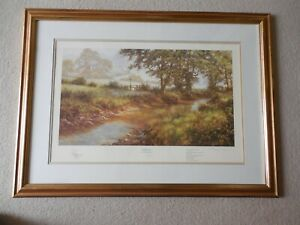 """David Dipnall """"Morning by the Stream"""" Print by Solomon &Whitehead, 76/500,Signed"""