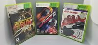XBOX 360 3X Need for Speed Games Lot: Hot Pursuit, Most Wanted & The Run