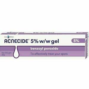 Acnecide Topical Aqueous Gel Treats Spots Acne 5% 30g