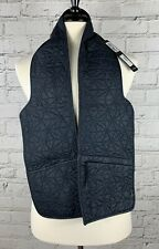 STONE ISLAND SHADOW PROJECT Blue Scarf - Jacket Insert Size XL New With Tags