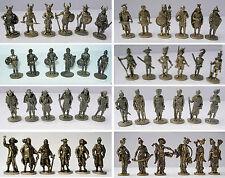 U-ei Soldatini kinder metallfiguren Serie 35mm ottone messing varie tipologie