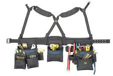 NEW CLC 2617 28 POCKET CARPENTERS POLY FABRIC SIGNATURE TOOL BELT BAG  1541580