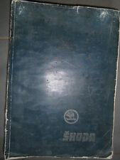 Skoda 100 100L 110L 110LS : manuel de réparation 1973