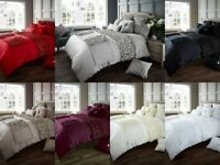 Luxury Verina Duvet Covers Quilt Cover Reversible Bedding Sets All Sizes