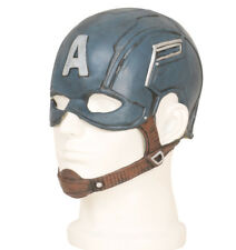 Captain America Steve Rogers Mask Latex Captain America Helmet