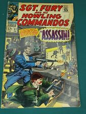 MARVEL COMICS GROUP SGT. FURY AND HIS HOWLING COMMANDOS #51 2/1968 NICE COPY