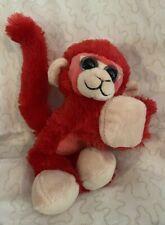 "Wild Republic - CK Huggers - Red Monkey - 8"" EUC"