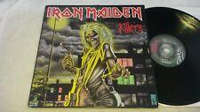 IRON MAIDEN-'KILLERS'-1981 NWOBHM Uk 1st A1/B1 EMI /EMC 3357-PAUL DI'ANNO Ex/Vg+