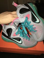 Nike Lebron 9 (GS) Elite South Beach Sneakers NIB Size 5Y
