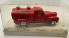 Vintage Solido Dodge Pompier 4416 Sellersville Fire Truck Diecast Car Model