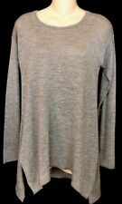 Donna Karan  Sweater Nude Thin Cashmere Poncho Style Sleeves Nwt Size PS