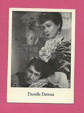 Danielle Darrieux Vintage Movie Film Star German Card