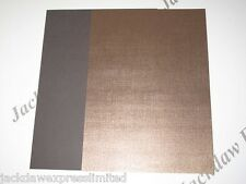 15 x 1-Sided A5 Bronze Pearlescent (Linen) Embossed Paper 110gsm AM77