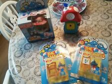 Vintage Smurf Playset Bundle