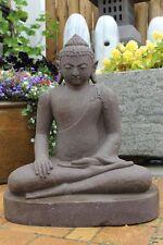 Buddha Gartenfiguren & -skulpturen aus Lavastein