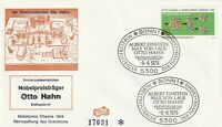 GERMANY 9 AUGUST 1979 NOBEL PRIZE WINNERS FIRST DAY COVER BONN SHS
