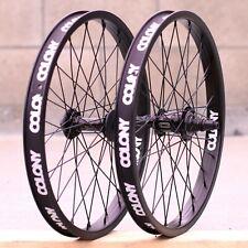 "Colony BMX Wheel Black // Polished 16/"" Horizon Front Wheel"