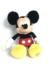 """Disney Store Mickey Mouse Large 17"""" Plush Authentic Original Stuffed Toy"""