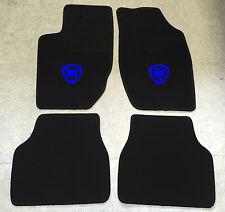 Autoteppich Fußmatten für Lancia Thema schwarz blau 1984'-1994' 4teilig Neuware