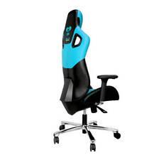 E-BLUE EEC303BLAA-IA Cobra PC Gaming Chair - High Grade PU Leather (Black &