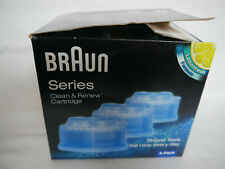 BRAUN Series Clean&Renew Cartridge Type 5331, 3er-Pack, Lemonfresh, NEU/OVP !