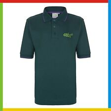 CUBS POLO SHIRT: Official supplier *NEW STYLE*: All Sizes - BRAND NEW Cubs Top