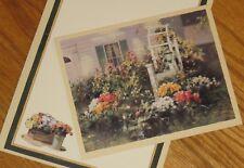 Paul Landry Art - Fall Arbor - Flower Garden - Lang 5x6 Note Card 4ct