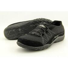 SKECHERS Breathe Easy Relaxation Black/black Women Shoes Comfort SNEAKERS 6