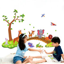 Cartoon Cute Animal Removable Wall Decal Stickers Kids Baby Nursery Room Decor_,