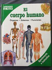 EL CUERPO HUMANO - Órganos Sistemas Funciones APRENDER ES FÁCIL apasionante