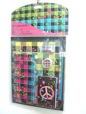 ACCESSORIES Peace 11 Pieces Stationary Set Back to School Supply New