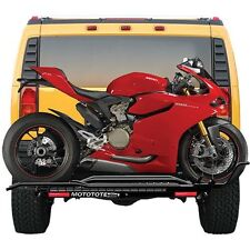 MotoTote Motorcycle Carrier MTX Sport Motorcycle Carrier Hitch Mount Bike Ramp
