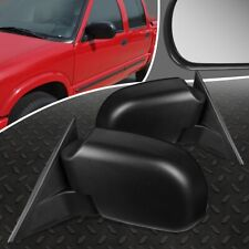 FOR 98-04 CHEVY S10 PICKUP GMC SONOMA PAIR OE STYLE MANUAL SIDE VIEW DOOR MIRROR
