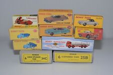 # REPRODUCTION COPY DINKY TOYS EMPTY BOXES 10X NOT ORIGINAL!!!