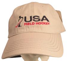 USA Field Hockey Hat USA Embroidery Unisex Cotton Cap Unisex