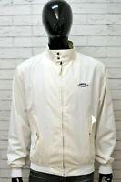 Giubbotto LONSDALE Parka Uomo Size XXL Giubbino Jacket Man Giacca Cotone Bianco