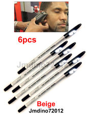 6pcs D.Beige Barber's Magic Pencil, for outlining before trimming and shaving