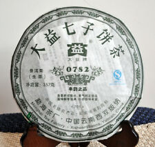 2007 Yunnan MengHai Dayi TAETEA 0782 Raw Sheng Uncooked Puerh Puer Tea 357g