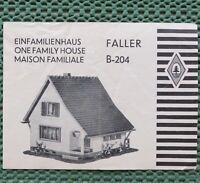 Faller AMS  -- Original Anleitung für B-204
