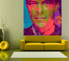 XXL David Bowie Alu Dibond  Klarlack XXL 130x130 PopArt/Malerei/Bild/Gemälde