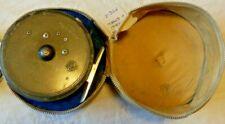 VINTAGE HARDY PRINCESS FLY REEL 2 SCREW L/GUARD + HARDY ZIP REEL CASE