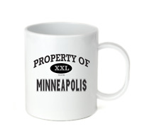 Coffee Cup Mug Travel 11 15 oz USA City Property Of Minneapolis